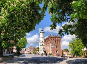Sandomierz, Polen, Rathaus