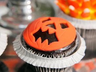 Jack O'Lantern Cupcakes, Halloween