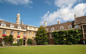Christ's College, Cambridge, UK