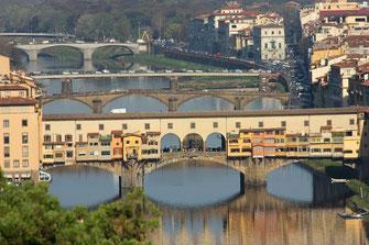 Ponte vecchio Florenz Toskana