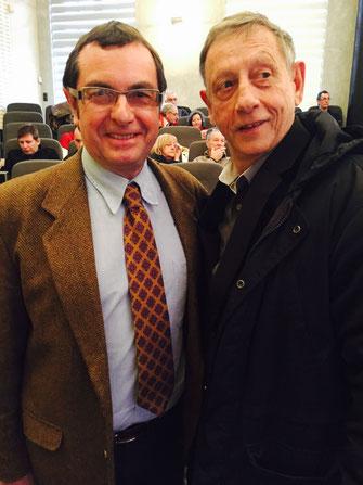 Claude Fauquet et Francis Van Londersele anciens CTR en Picardie  se sont retrouvés dimanche à Amiens.