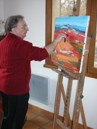 Artiste peintre Bagdon