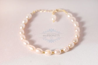 perlen nuggets armband