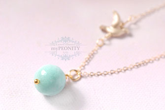 dove collection Aqua Jade Kette