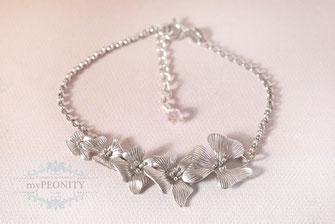 blüten ranke romantisches Armband