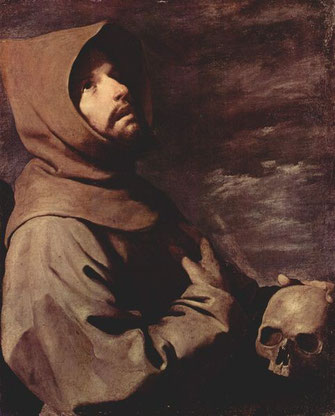 Francisco de Zurbaran, San Francesco d'Assisi incappucciato, 1658