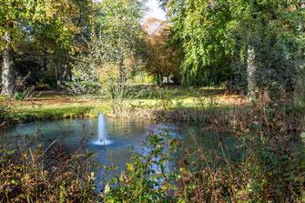 Herbststimmung im Hohenzollernpark. Bild: J. Hansen