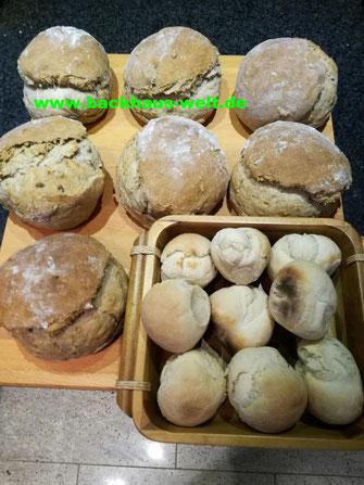 Holzbackofen-Brot