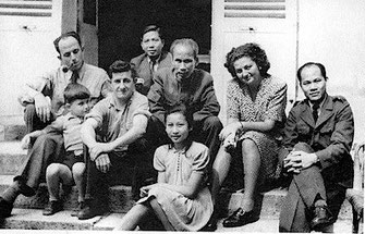 Ho Chi Minh chez les Aubrac en 1946