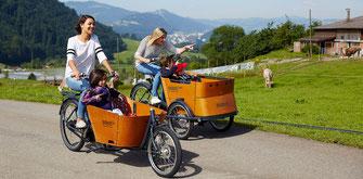 Lasten e-Bikes von Urban Arrow und Babboe sind bei uns eingetroffen