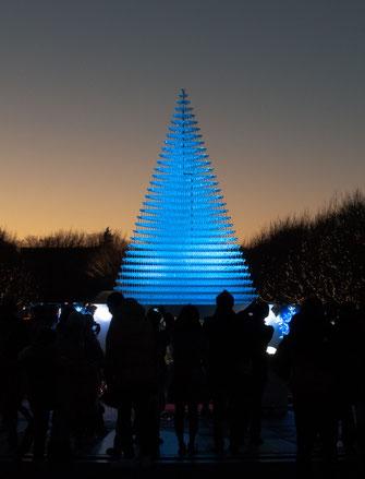 昭和記念公園 シャンパングラスタワー