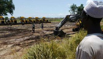 L'esproprio delle terre africane