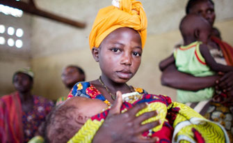 Sposa bambina nell'Africa orientale