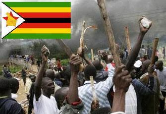 Violenza nello Zimbabwe