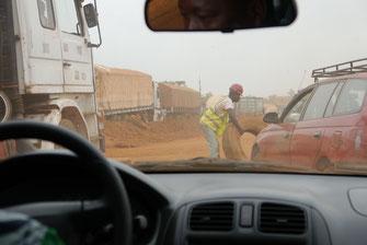 Bénin 2015: Fahrt von Cotonou nach Abomey (© Brühl Stiftung)