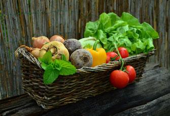 Frisches Gemüse - Enzyme
