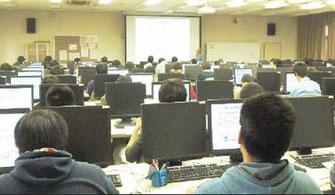 DCA資格制度 埼玉工業大学 社会情報学の講義風景