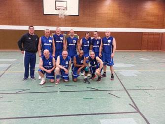 BSG-Team der Ü40 Senioren 2014-15