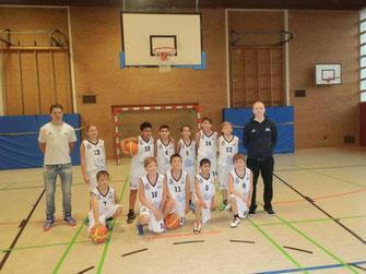 Team BSG U12.2 vom Schulzentrum Carl-von-Ossietzky