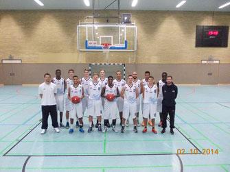 BSG (SFL/OSC) Bremerhaven: Teamfoto 1. Herren zur Saison 2014-15