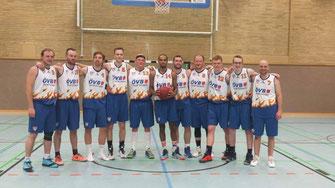 BSG II - die Meistermannschaft der Oberliga Herren West 2015-16