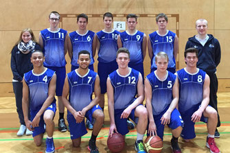 männliche U18 Saison 2014-15 (Foto privat)