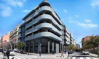 Новостройка в районе Sanz-Les Corts, Барселона