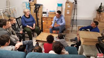 Atelier Kids Citoyen à Vélizy-Villacoublay.