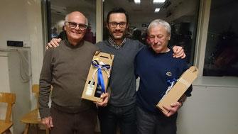 Elmar, SGSG Präsident Andy und Rudi
