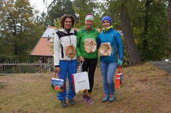 2.Michaela Bianchini, 1.Tanja Pancheri, 3.Sabine Riedl