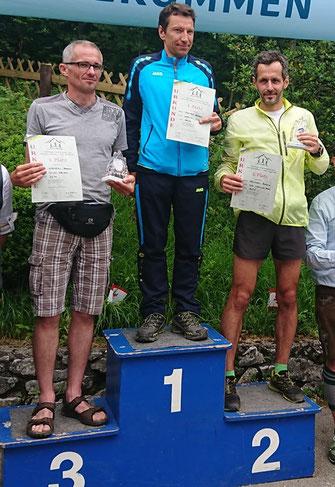 3. Wenzel AUT, 1. Michael Irsara Südtirol, 2. Helchel CZE