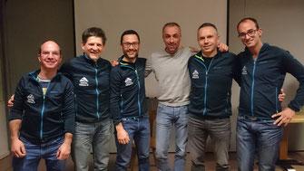Reini D., Martin, Andy, Reini P., Stefan und Manuel