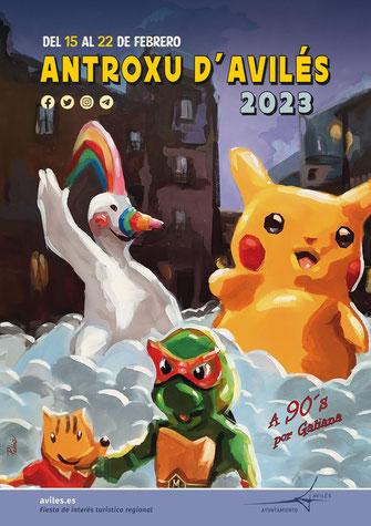 Fiestas en Avilés Antroxu - Carnaval