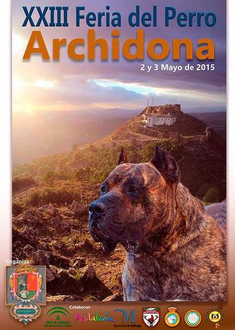 Programa y Cartel de la Feria del Perro de Archidona 2015