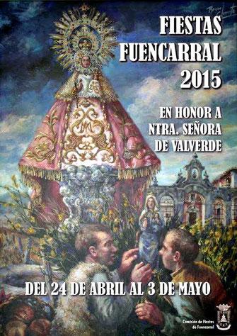 Cartel de las Fiestas de Fuencarral 2015