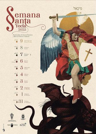 Fiestas en Yecla Semana Santa
