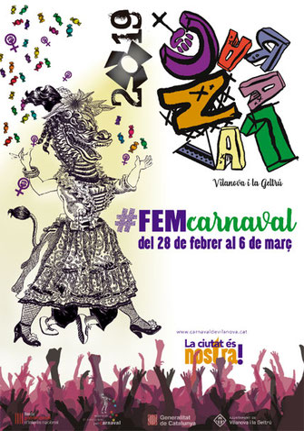 Fiestas en Vilanova i la Geltrú Carnaval