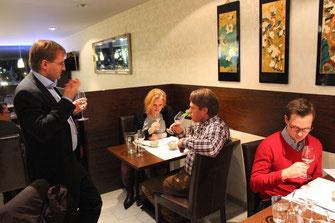 Weinseminar Wein und Sushi in Frankfurt