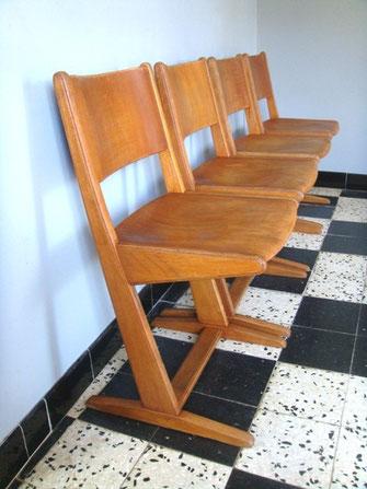 Chaise d'école allemande Casala