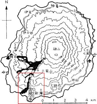 三宅島地図