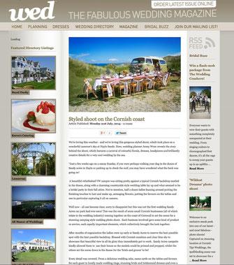 Wed Magazine online