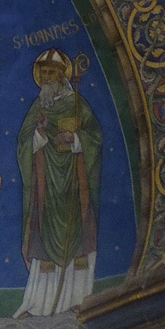 Sint-Ioannes Chrysostomos met zijn bisschopsstaf