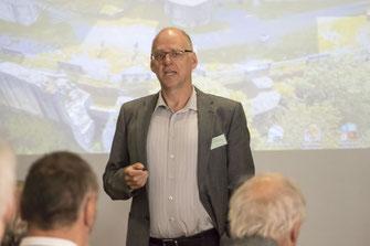 Einer der Redner des Weidelsburg-Symposium: Prof. Dr. Ulrich Ritzerfeld