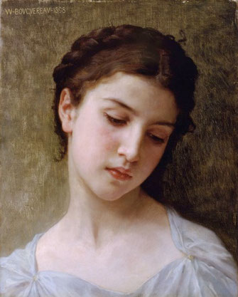 Louise de Vilmorin par William A. Bouguereau