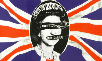 God save the Queen; Design von Jamie Reid