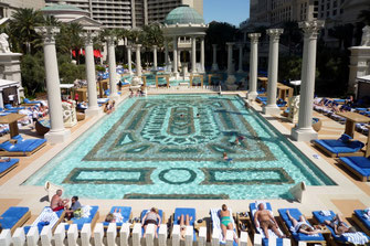 Pool, Las Vegas, Nevada, USA, Die Traumreiser