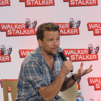 Sean Patrick Flanery at Walker Stalker London