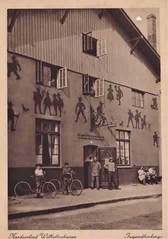 Jugendherberge Garnison-Waschanstalt Garnison-Waschhaus Wilhelmshaven