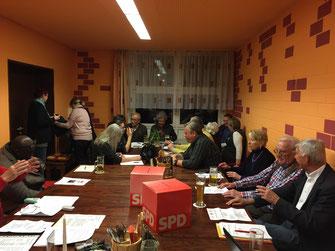 Jahreshauptversammlung 2015 - Foto: SPD