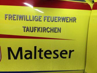 Gemeinsam im Einsatz: Die freiwillige Feuerwehr und die Malteser Taufkirchen besetzen schon seit Jahren den First Responder.